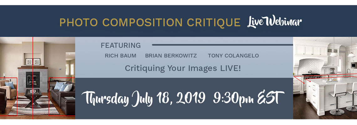 Webinar Announcement: Composition Photo Critique with Tony Colangelo
